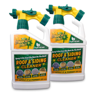 miracle mist roof and siding cleaner
