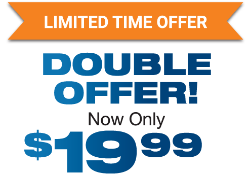 limited time double offer