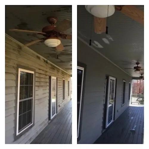 clean mold off house siding